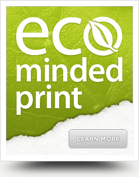 Eco-minded print